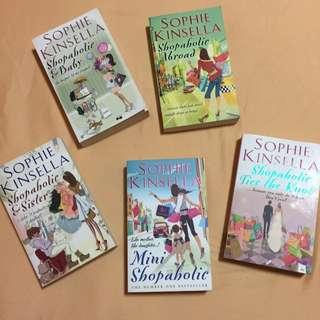 🚚 Shopaholic Books - Sophie Kinsella $25 FOR ALL *NEW*
