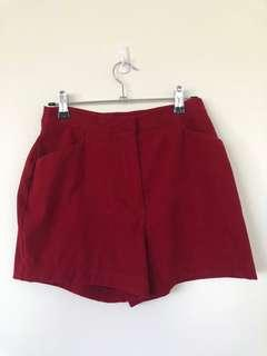 Suede Booty Shorts
