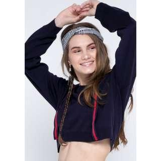 COLORBOX CROP SWEATSHIRT