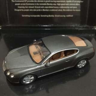 Bentley Continental GT 1:43 scale model