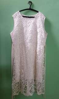 White dress big size