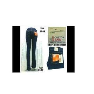 Jeans Wanita/Jeans Bootleg/Jeans Wanita Bootcut