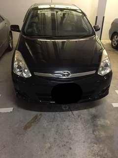 Toyota Wish for rental... CHEAPEST CAR RENTAL