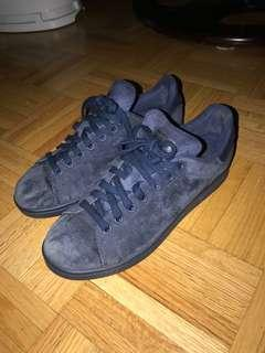 Stan Smith blue suede Adidas, size US 7 men's