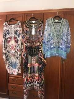Brand new Camilla tops and dresses