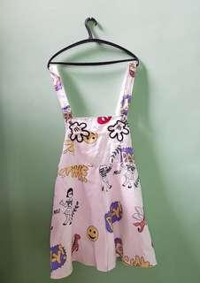 Overall jumper big size