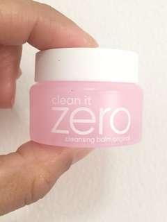 Clean it ZERO cleansing balm