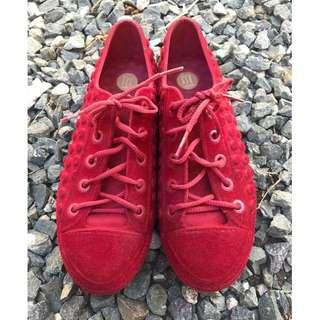 RUSH!!Melissa shoes red