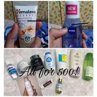 SKINCARE! ALL FOR ONE PRICE! 💙