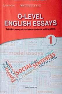 O LEVEL ENGLISH LANGUAGE MODEL ESSAYS