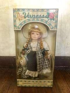 Limited Edition Vanessa Porcelain Doll Series 2000
