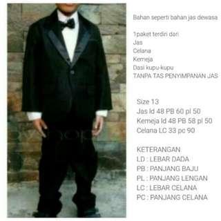 Jas Tuxedo Anak New