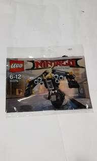 Lego 30379 ninjago movie quake mech new sealed