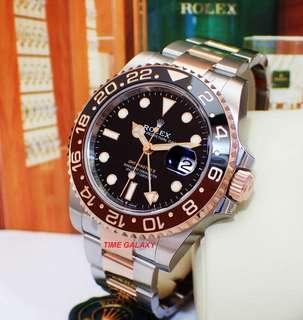 ROLEX GMT Master II Rootbeer 126711CHNR