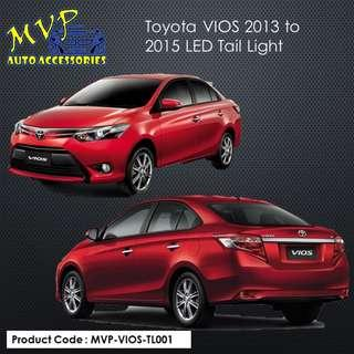 2013 to 2017 Toyota VIOS LED Tail Light ( Pre-Order )
