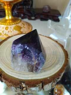🚚 骨幹紫水晶柱