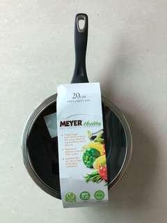 100% NEW MEYER 20cm Open Chef's Pan (with glass lid)