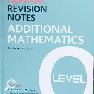 EMATH AND ADD MATH TOPICAL REVISION GUIDE