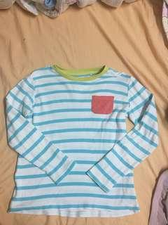 🚚 男童橫條上衣13
