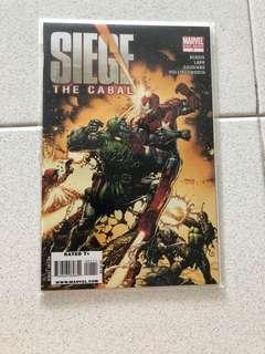 Marvel Comics' Siege (Complete Set)