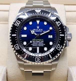 BNIB Rolex Deepsea Sea-Dweller DSSD D-Blue 116660