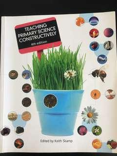 Book - Teaching Primary Science Constructively by Skamp K. (ed.)