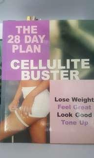 Pilates Book & Cellulite Buster book