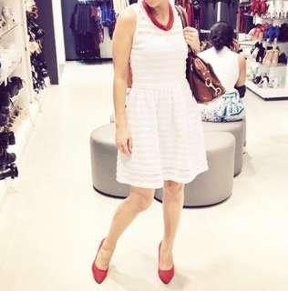 Plains & Prints white dress