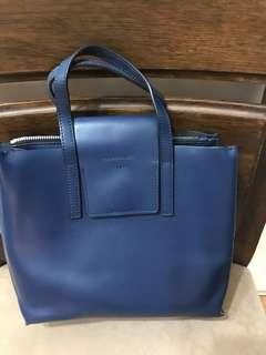 Authentic Rabeanco Lucia Boxy Leather Bag