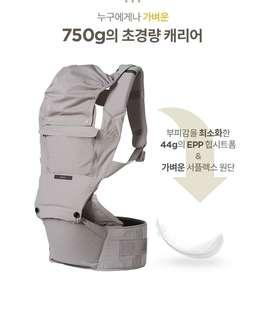 全新Ecleve pulse送防風罩 揹帶 背帶 咩帶 hipseat 謝安琪張繼聰之選