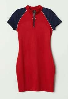 Jersey dress h&m
