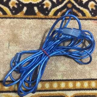 5m USB extension wire