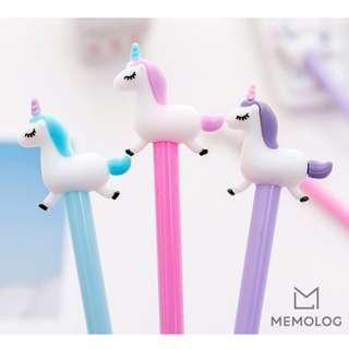 Jumping Unicorn Gel Pen