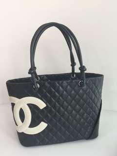 Chanel Cambon Large Tote Bag