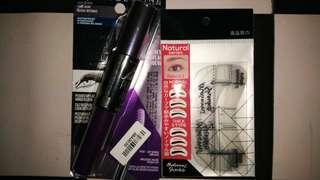 (BUNDLE HEMAT) Maybelline Mascara push up & Masami Shouko Eyebrow Guide
