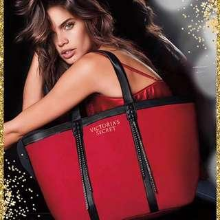 Victoria's Secret Tassel Ornate Tote Bag