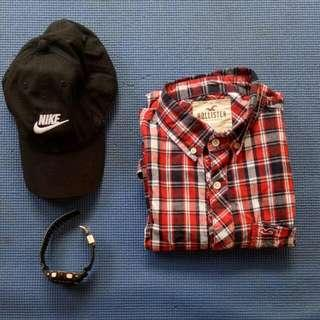Hollister Checkered Long Sleve