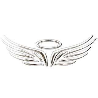 3D Angel Fairy Wings Trunk Rear Emblem Badge Logo for Cars and Bike