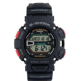 Casio G-Shock G-9000-1V Mudman