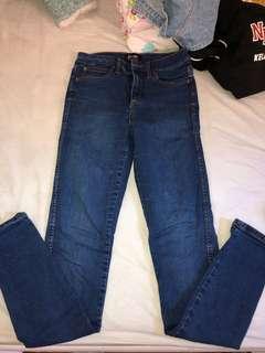 Bardot dark denim jeans