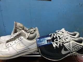 Airforce 1 and Metcon DSX Flyknit