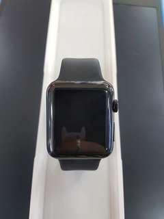Apple watch Stainless Steel Black 42mm gen 1. Second. Mulus
