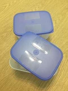 Tupperware FreezerMate 650ml container x2
