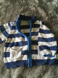 Mothercare stripes cardigan