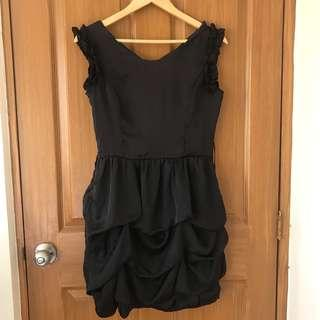 Black Semi-formal Cocktail Dress