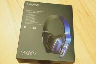 🚚 1more.  藍芽耳機 MK802 九成新 原價5290 歡迎詢問