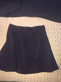 H&M Cute Black Skirt