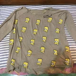 Simpsons Top Longsleve