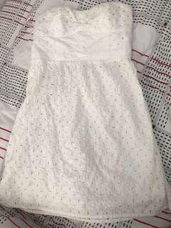 American Eagle Outfitters eyelet dress
