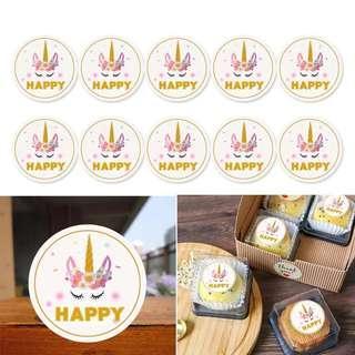 Unicorn Happy stickers